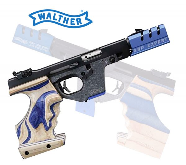 Walther GSP Expert .32 S&W long Links-Ausführung Griff M Selbstladepistole