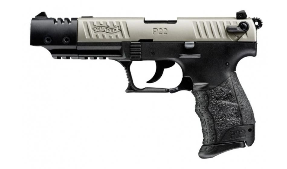 Walther P22Q Target Nickel .22 l.r. Pistole #5120110