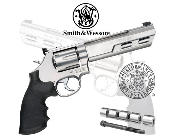 Smith & Wesson Model 686 Competitor Performance Center .357 Mag Revolver