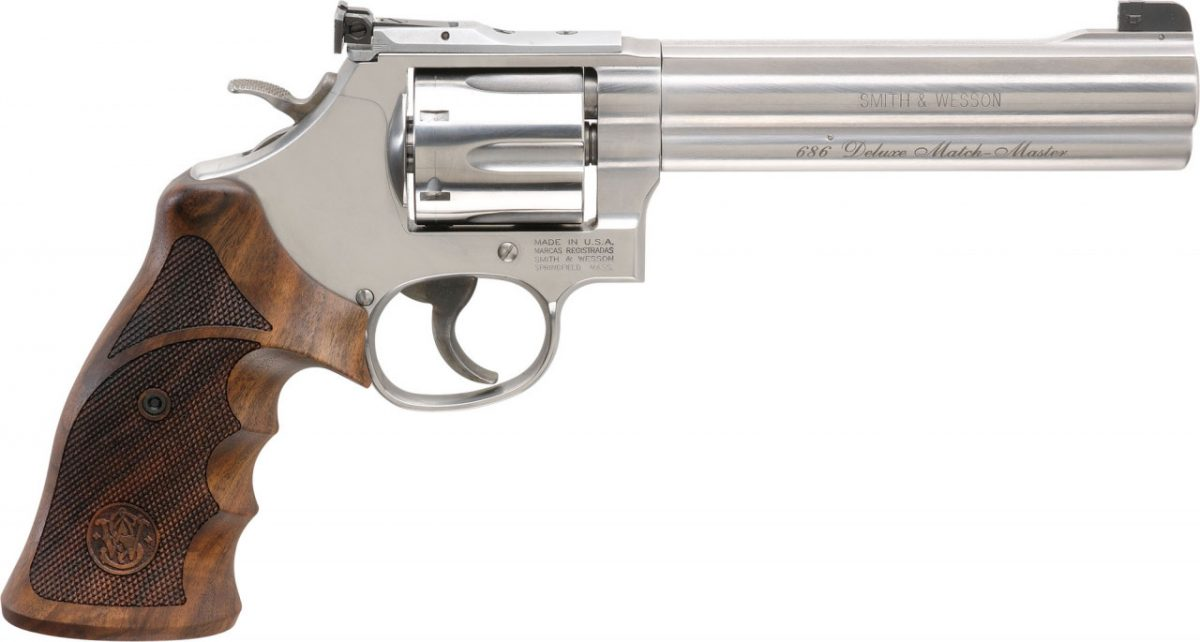 Smith & Wesson Model 686 Deluxe Match Master .357 Mag Revolver #201023