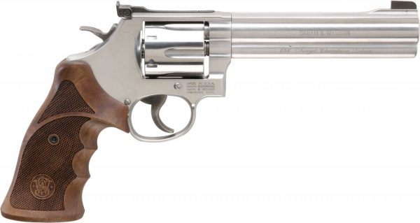 Smith & Wesson Model 686 Target Champion Deluxe .357 Mag Revolver #201022