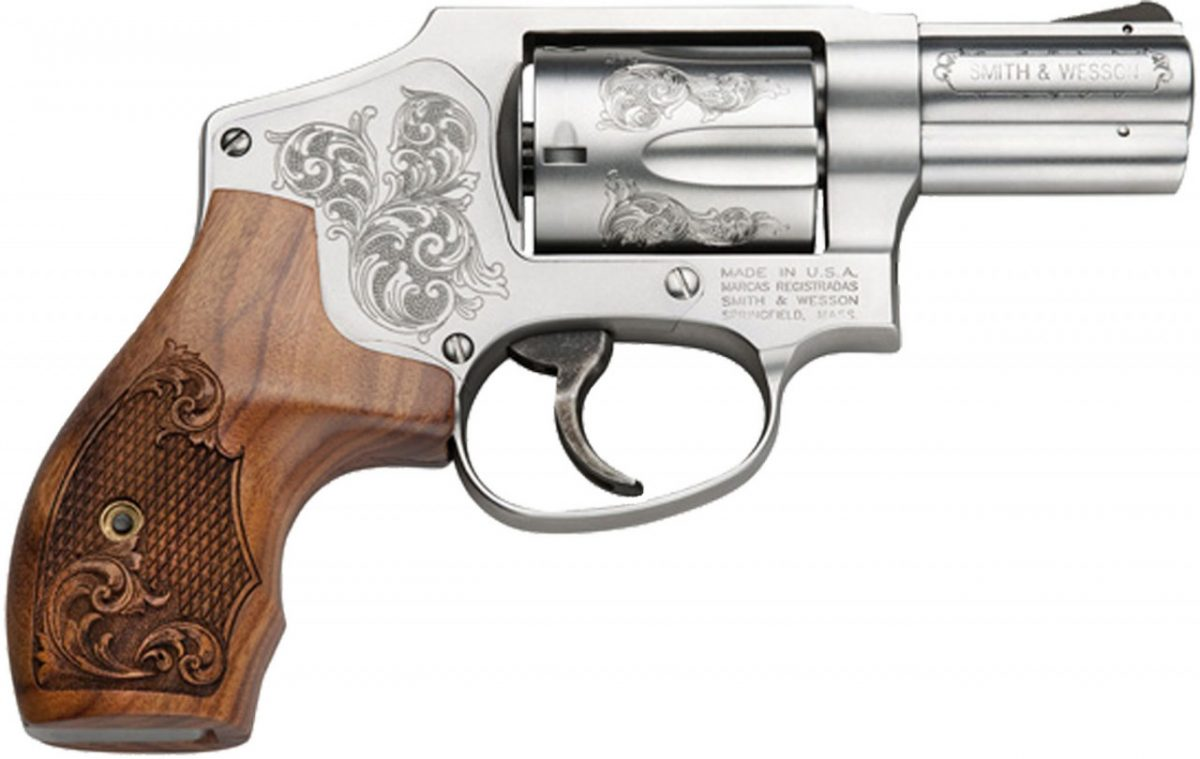 Smith & Wesson Model 640 Machine Engraved .357 Mag Revolver #150784
